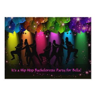 Hip Hop Girl Bachelorette Custom Invitation