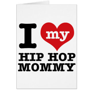 Hip Hop Girlfriend Greeting Card