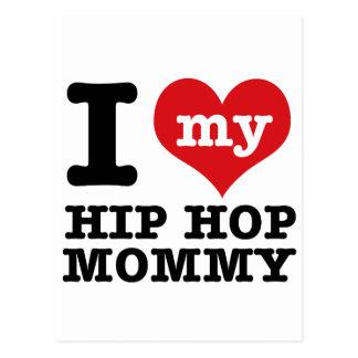 Hip Hop Girlfriend Postcard