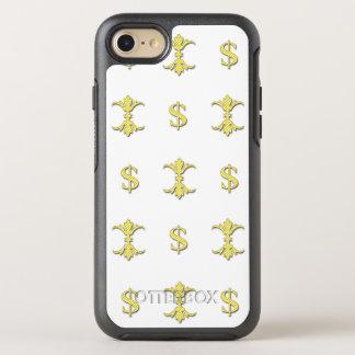 Hip Hop Gold Dollar Bling Royal OtterBox Symmetry iPhone 8/7 Case