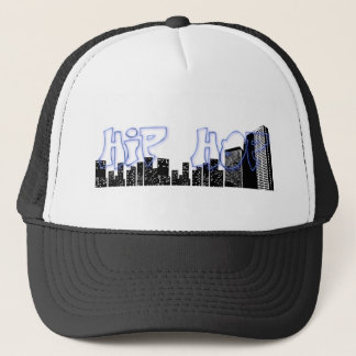 HIP HOP GRAFFITI TRUCKER HAT