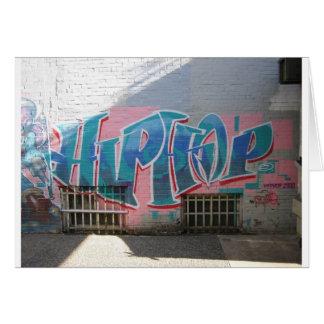 Hip Hop Greeting Card