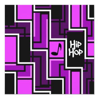 Hip Hop invitation - customize