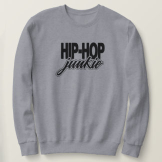 Hip Hop Junkie Golden Era Rap Music Sweatshirt