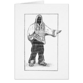 Hip-Hop Man Greeting Card