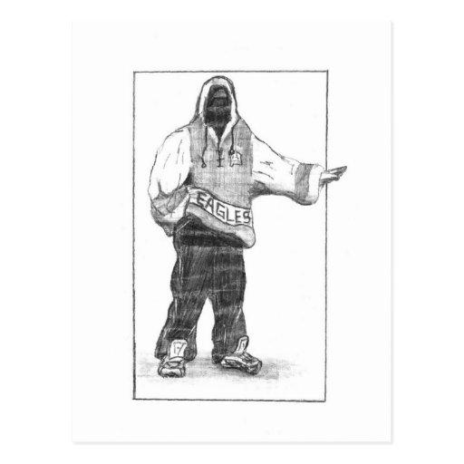 Hip-Hop Man Post Card