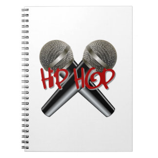 Hip Hop - mc rap dj rap turntable mic graffiti r&b Notebook