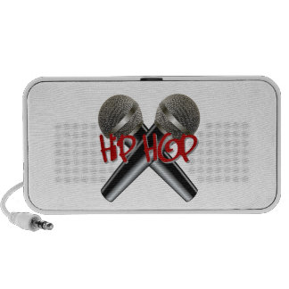 Hip Hop - mc rap dj rap turntable mic graffiti r&b Mini Speakers