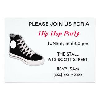 Hip Hop Party Invitation