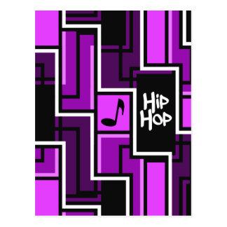Hip Hop postcard, customizable