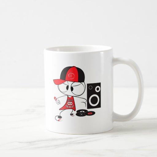 Hip hop rapper doll mug