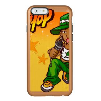 hip hop rapper girl green orange cartoon incipio feather® shine iPhone 6 case