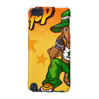 hip hop rapper girl green orange cartoon iPod touch 5G cases