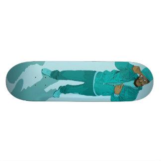 Hip Hop Retirement Village - Mr Aqua Skate Decks