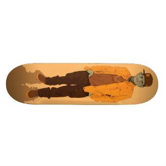 Hip Hop Retirement Village - Mr Yellow 18.4 Cm Mini Skateboard Deck