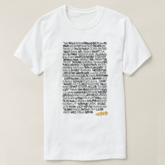 Hip Hop Role Call T-Shirt