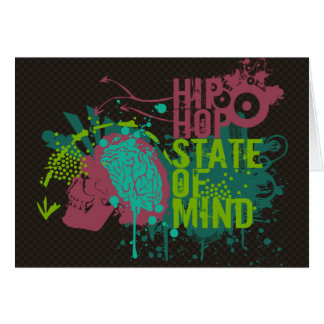Hip Hop State of Mind Greeting Card