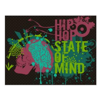 Hip Hop State of Mind Postcard