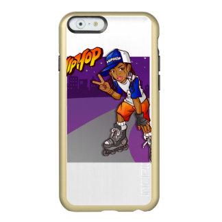Hip Hop Teenage Skater Cartoon Incipio Feather® Shine iPhone 6 Case