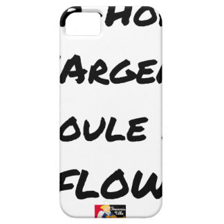 HIP-HOP: The MONEY RUNS With FLOW - Word games Barely There iPhone 5 Case