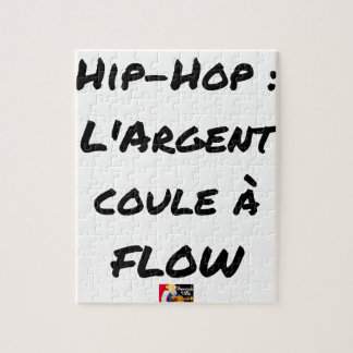 HIP-HOP: The MONEY RUNS With FLOW - Word games Jigsaw Puzzle