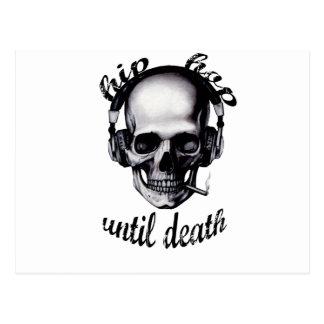 Hip Hop Until Death Postcards