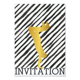 Hip Hop Urban Break Modern Dance Festival Vip 9 Cm X 13 Cm Invitation Card