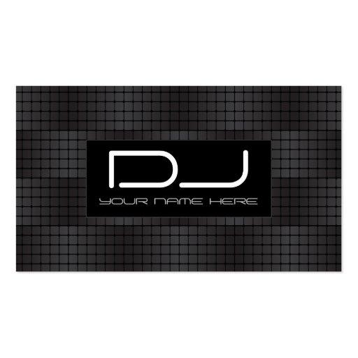 Hip Hop urban DJ Business Cards