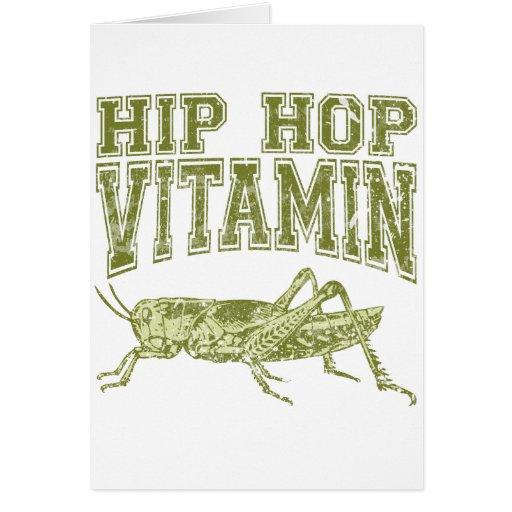 Hip Hop Vitamin Cards