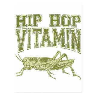 Hip Hop Vitamin Postcard