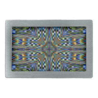 Hip modern Artistic Feathery Pattern Belt Buckles
