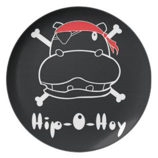 Hip-O-Hoy Plate Black