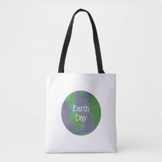 Hip Recycling Globe Planet Earth Day Tote Bag