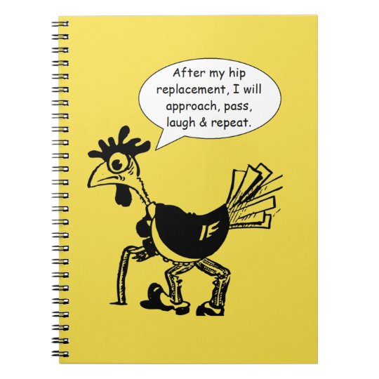 Hip Replacement Surgery - Fun Quote Notebooks