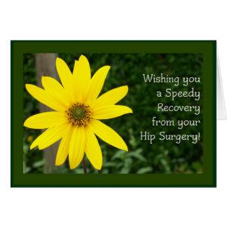 Hip Surgery Speedy Recovery Card