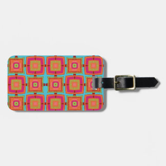 Hip To Be Square Luggage Tag