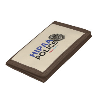HIPAA Police Trifold Wallets