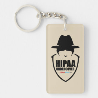 HIPAA Undercover Key Ring