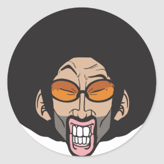Hiphop Afro man Stickers