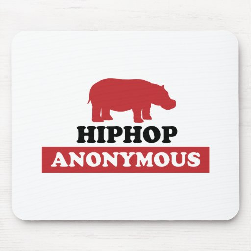 HipHop Anonymous Mouse Pad