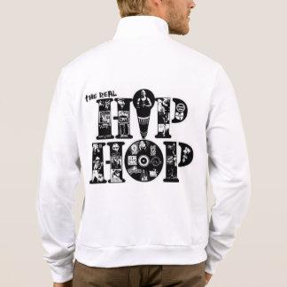 hiphop California Fleece Zip Jogger Jacket
