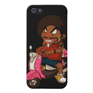 Hiphop Rider Case For iPhone 5/5S
