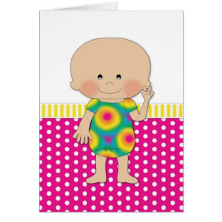 Hippie Baby Pink Cards