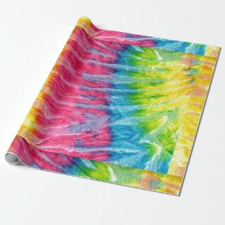 Hippie Boho Tie-Dye Wrapping Paper