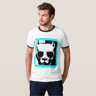 Hippie Bulldog T-Shirt