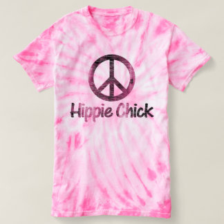 Hippie Chick Peace Sign T-Shirt