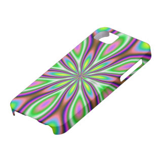 Hippie chicks rule flower pattern iPhone case