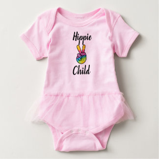 Hippie Child Tutu Bodysuit