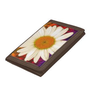 Hippie Daisy Tri-fold Wallet