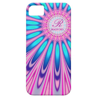 Hippie 'delica Pink Blue Tie Dye iPhone 5 Case